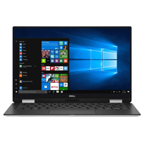 Laptop Dell Xps 9365 (2-IN-1) Core i7-7Y75, RAM 16GB, SSD 512GB, Intel HD Graphics 615, 13.3 inch FHD Touch
